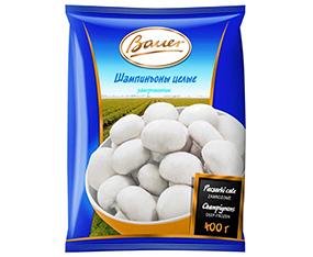 "Ciuperci întregi congelate ""Bauer"", 400 g Грибы целые замороженные ""Bauer"", 400 г"