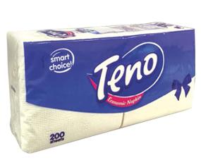 """Șervețele """"TENO"""" 200 buc."""