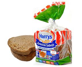 Paine feliatii Harry's American Sandwich cu tiiri1e, 515 g Хлеб Harry's Аmerican Sandwich 515 г