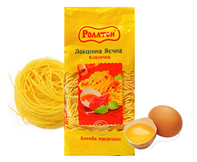 Fidea РОЛЛТОН cu oua, 400 g Лапша РОЛЛТОН яичная, 400 г