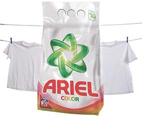 Detergent Ariel auto color, 2 kg Порошок Ariel auto color, 2 кг