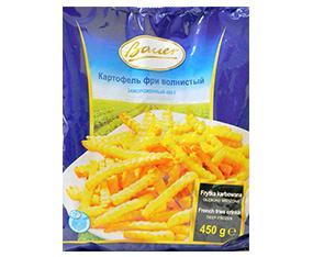 """Cartofi pai congelați """"Bauer"""", 450 g Картофель фри замороженный """"Bauer"""", 450 г"""