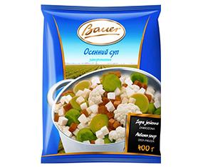 """Amestec de legume congelate """"Bauer"""", 400 g Овощная смесьзамороженная """"Bauer"""", 400 г"""